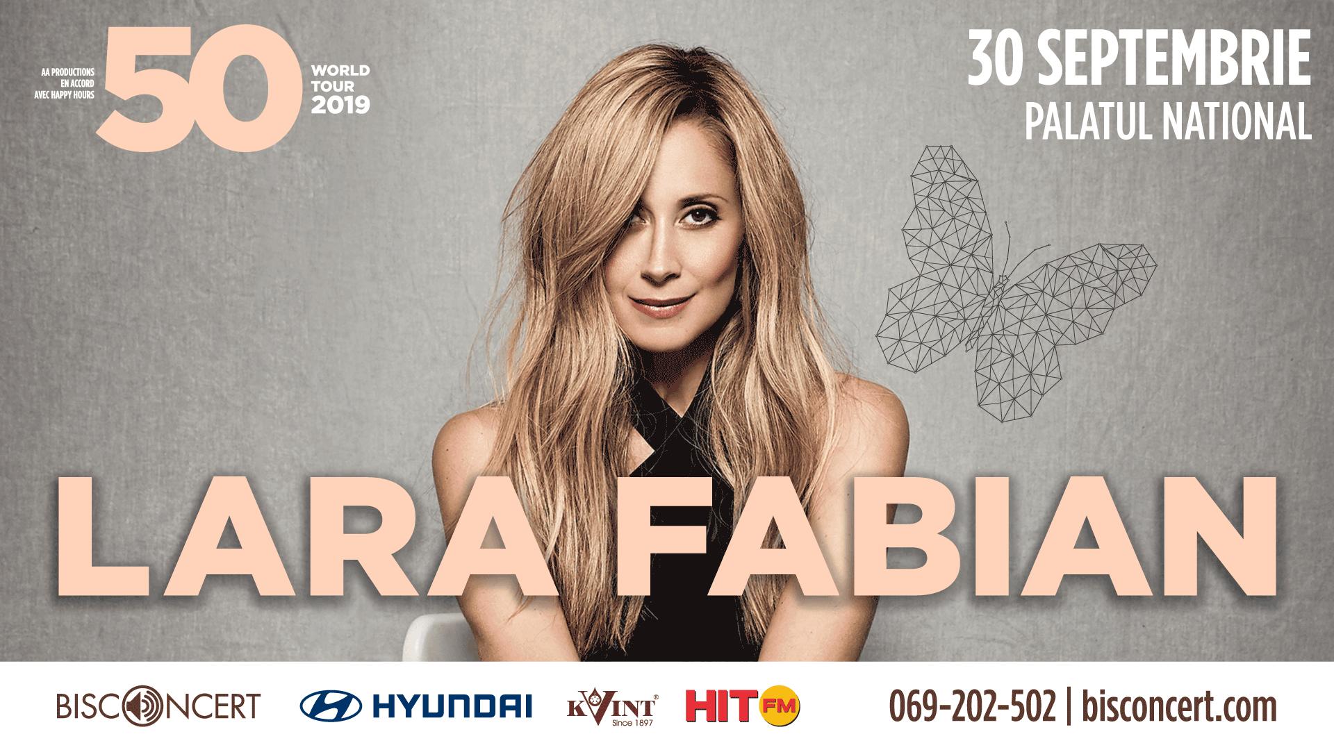 Lara Fabian - Concert la Chișinău