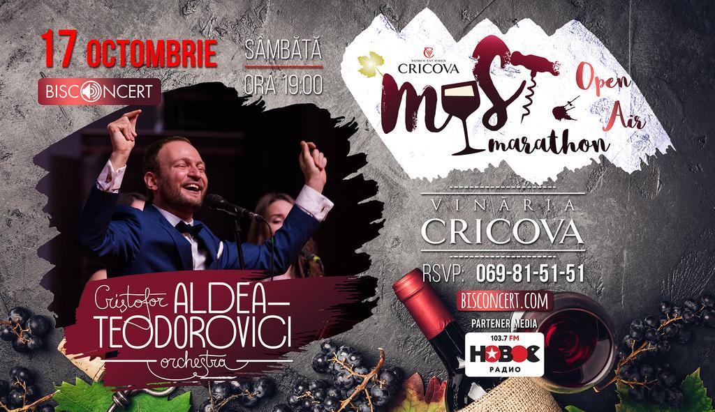 """Must Marathon alături de """"Aldea-Teodorovici Orchestra"""""""